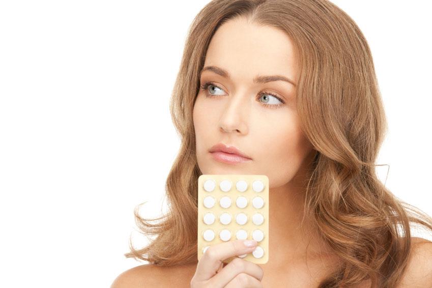 Приём оральных средств контрацепции