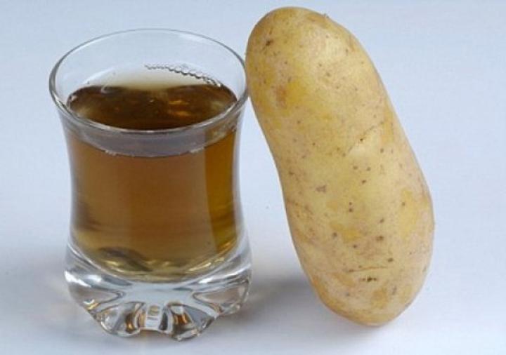 свежевыжатый сок картофеля