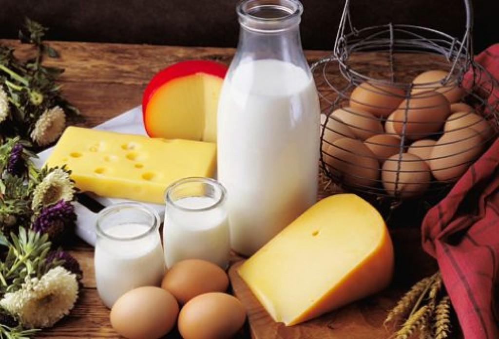 сыр, яйца, молоко